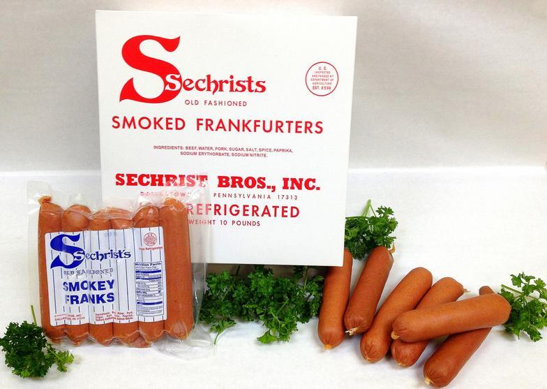 Sechrist Smoked Hot Dogs